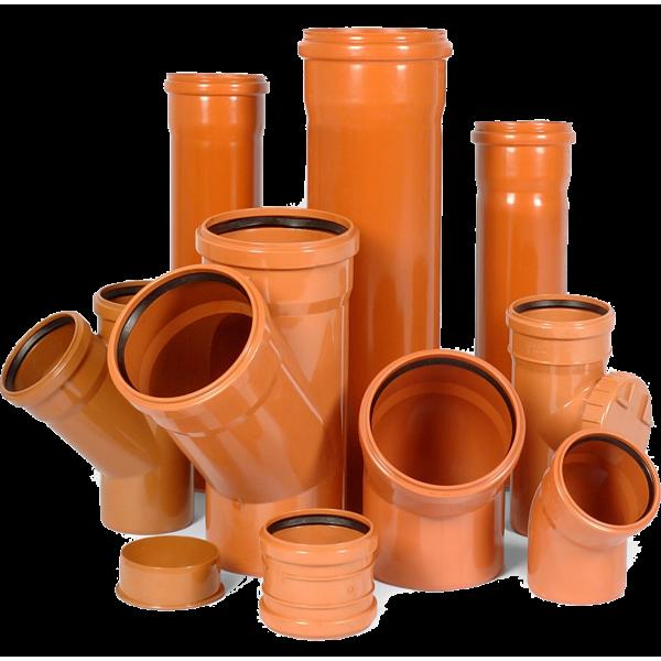 POLYTRON Трубы и фитинги для наружной канализации