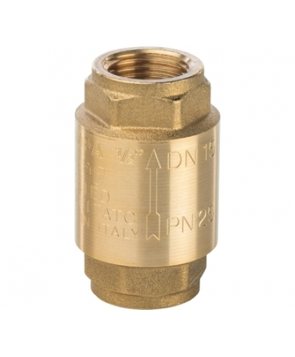 STOUT Клапан обратный пружинный муфтовый с металлическим седлом