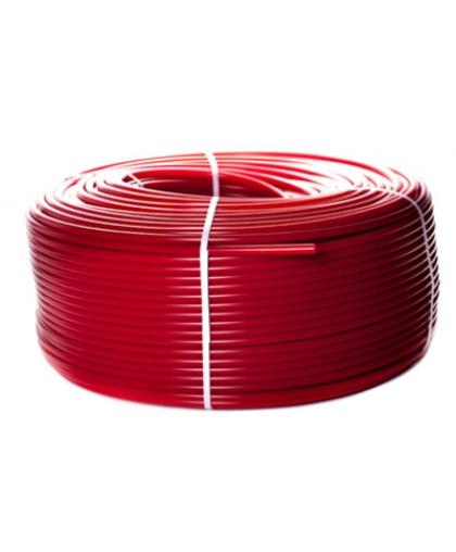 PEX-a труба из сшитого полиэтилена с кислородным слоем (цвет красный)