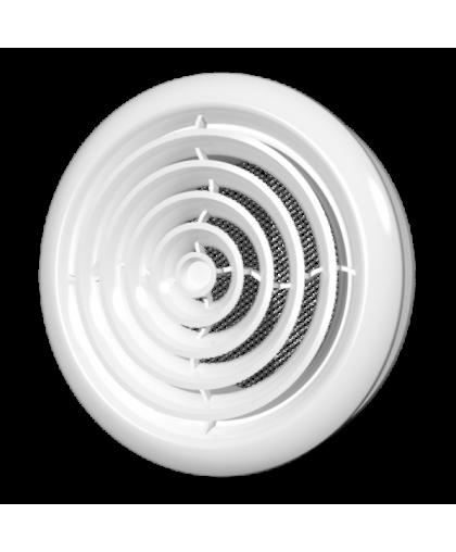 Диффузоры приточно-вытяжные со стопорным кольцом и фланцем серии DK