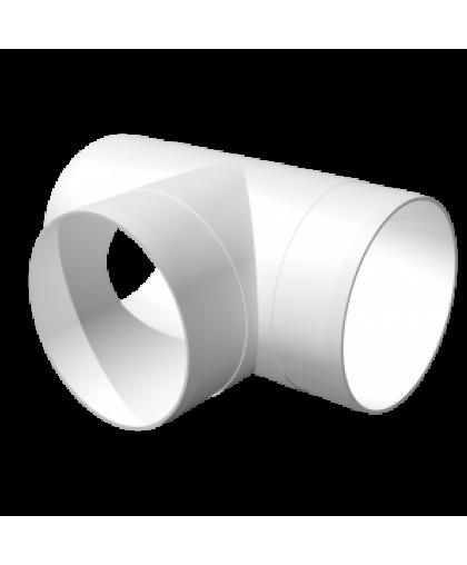 10ТП, Тройник Т-образный для круглых воздуховодов D100