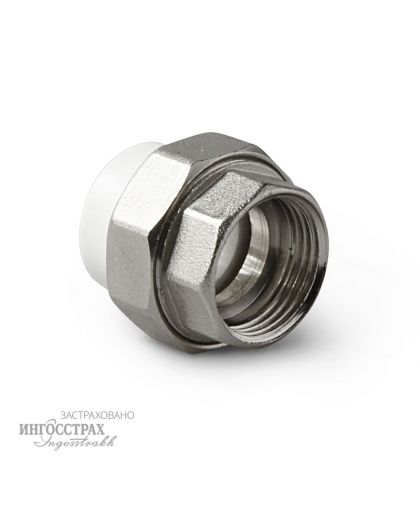 PP-R Муфта комбинированная разъемная с внутренней резьбой 20-1