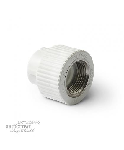 PP-R Муфта комбинированная с внутренней резьбой