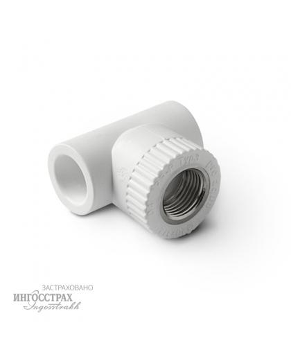 PP-R Тройник комбинированный с внутренней резьбой 20-1/2