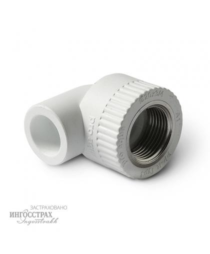 PP-R Угольник комбинированный с внутренней резьбой 20-1/2