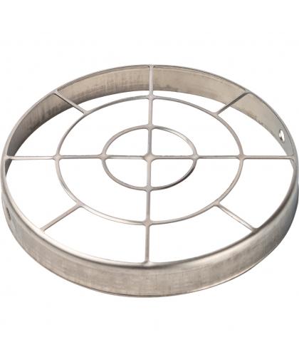 STOUT Элемент дымохода решетка из нержавеющей стали DN80 для воздухоподводящей трубы