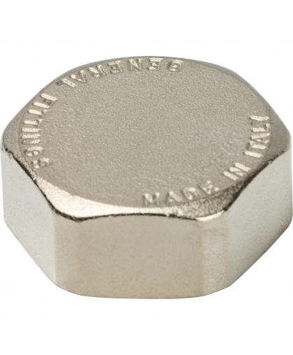 Заглушка никелированная с внутренней резьбой