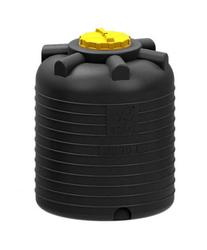 Емкость цилиндрическая вертикальная 3000 л (Р)
