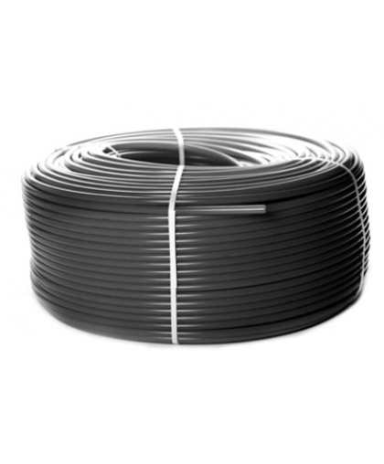 PEX-a труба из сшитого полиэтилена с кислородным слоем (цвет серый) 16x2,2