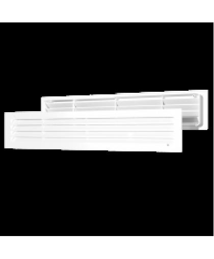 Решётки вентиляционные переточные, комплект 2шт. (серия ДП)