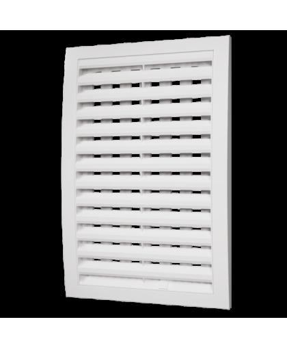 Решётки вентиляционные с регулируемым живым сечением, разъёмные (серия РРП)
