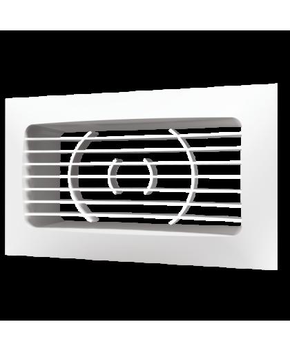 Решётки вентиляционные с прямоугольным фланцем (серия РСФ) 612