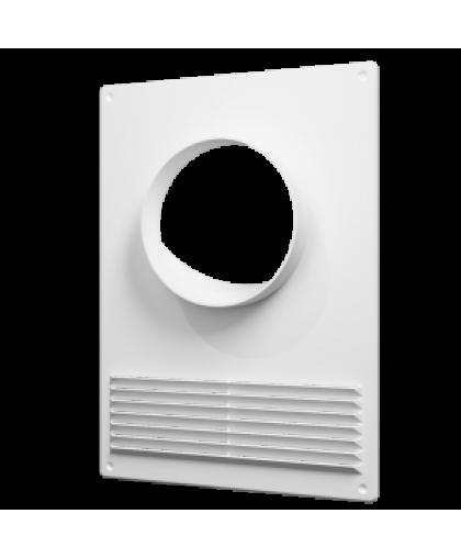 Площадки торцевые с решеткой для круглых воздуховодов (серия ПТПР) 180*250