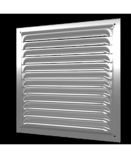 Решётки вентиляционные оцинкованные с сеткой (серия МЦ)