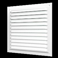 Решётки вентиляционные с покрытием полимерной эмалью и сеткой (серия МЭ)