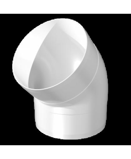 Колено круглое 45° 10ККП 100