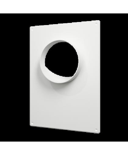 Площадки торцевые с решеткой для круглых воздуховодов (серия ПТП) 180*250