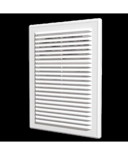 Решётки вентиляционные разъёмные с сеткой (серия Р)